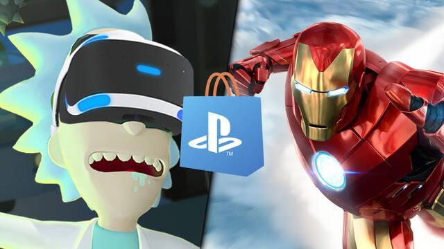 Ofertas en juegos de PS VR en PS Store.