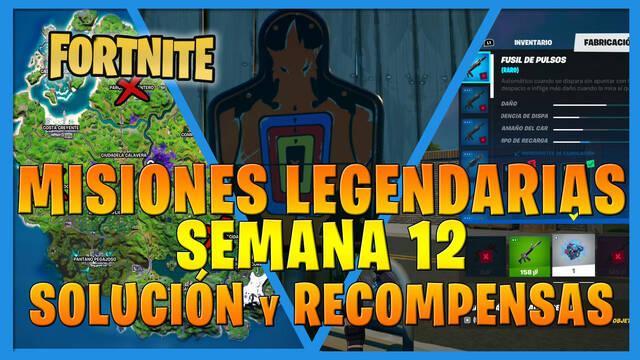 Fortnite T7: Misiones legendarias (Semana 12) - Solución y recompensas