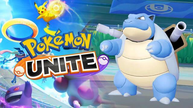 Pokémon Unite confirma la llegada de Blastoise el 1 de septiembre.