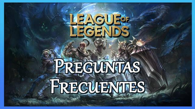Preguntas frecuentes en League of Legends