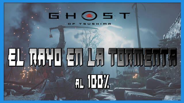 El rayo en la tormenta al 100% en Ghost of Tsushima: Isla de Iki