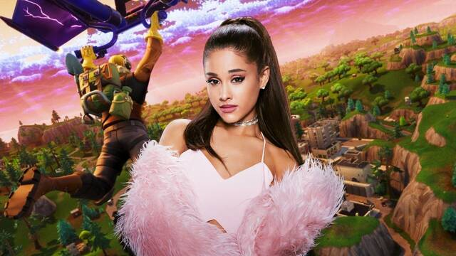 Ariana Grande será la próxima que dé un concierto en Fortnite