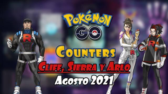 Pokémon GO mejores counters líderes Team GO Rocket de agosto 2021