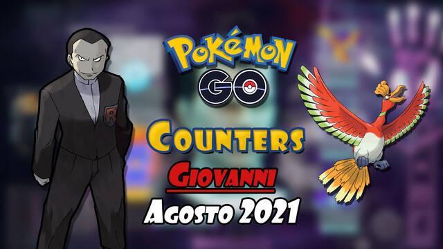 Pokémon GO counters Giovanni agosto 2021