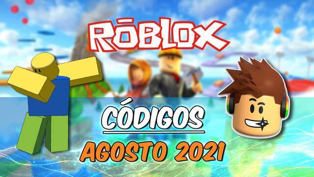 Roblox - Códigos de recompensas agosto 2021