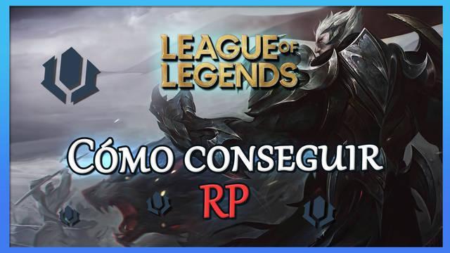 League of Legends: cómo conseguir RP gratis - LEGAL