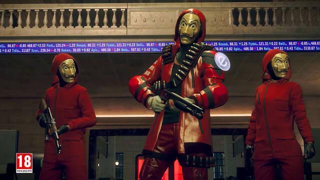 Ubisoft anuncia un crossover entre Watch Dogs Legion y La Casa de Papel.