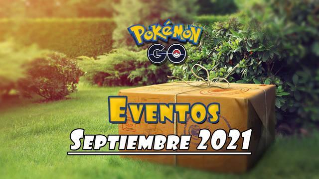 Pokémon GO: Eventos de septiembre 2021
