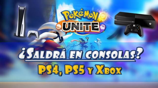 Pokémon Unite: ¿Saldrá en consolas PS4, PS5 o Xbox?