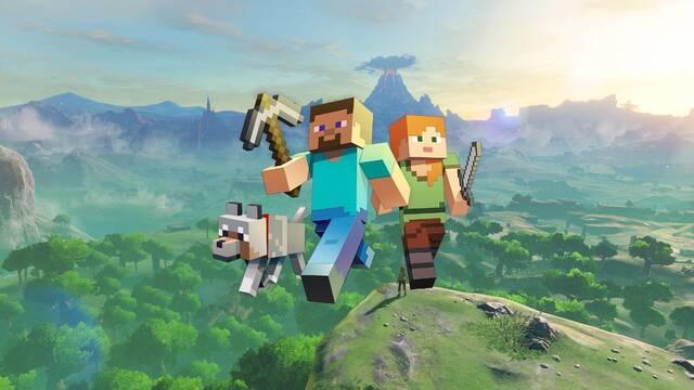 Zelda: Breath of the Wild se cuela en Minecraft