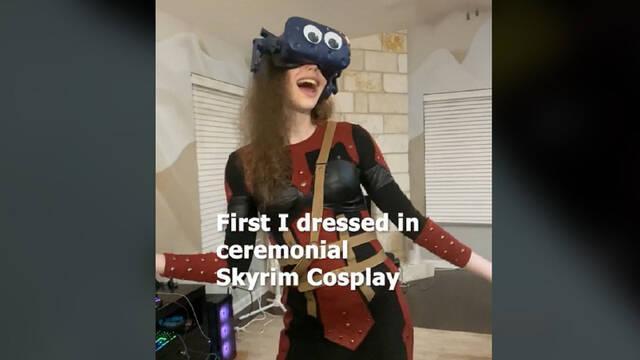 La experiencia más inmersiva de Skyrim VR