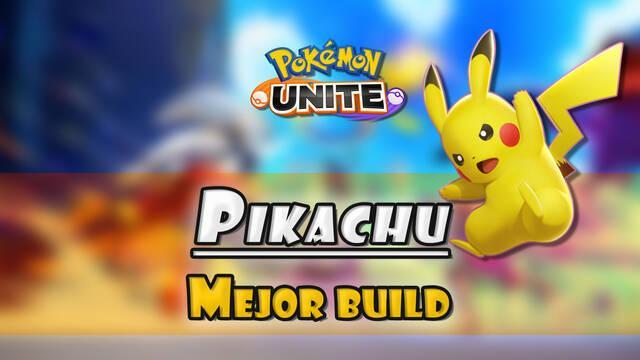 Pikachu en Pokémon Unite: Mejor build, objetos, ataques y consejos