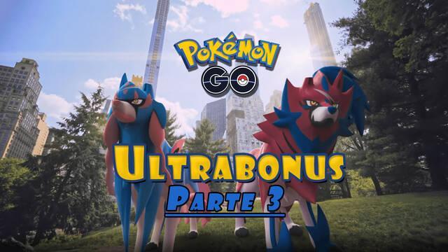 Pokémon GO Ultrabonus Parte 3 todos los detalles