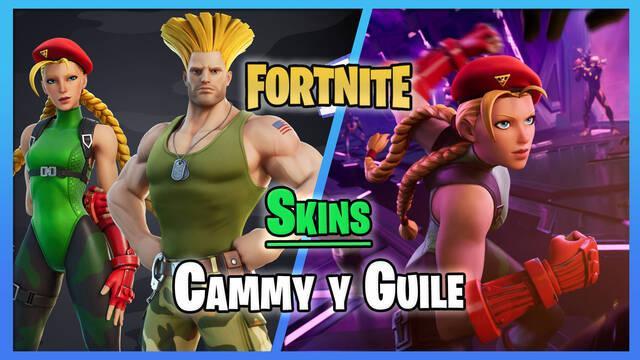 Fortnite: Skins de Cammy y Guile de Street Fighter
