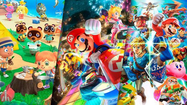 Ventas juegos de Nintendo Switch millones