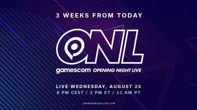 Gamescom 2021 gala sorpresas y anuncios
