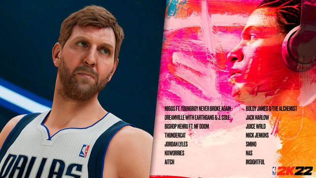 NBA 2K22 música banda sonora