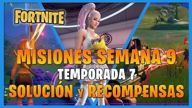 FORTNITE: misiones y desafíos Semana 9, temporada 7 - Solución y recompensas
