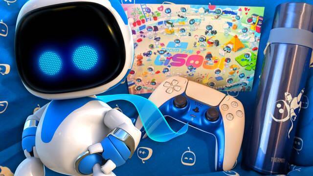 Así es el DualSense exclusivo que Team Asobi regala a sus nuevos empleados.