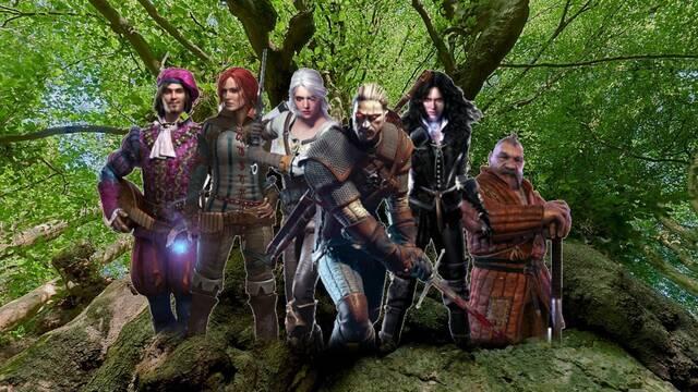 Árboles bautizados como los personajes de The Witcher
