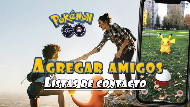 Pokémon GO cómo añadir amigos desde las listas de contactos