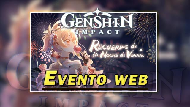 Genshin Impact detalles de Recuerdos de la Noche de Verano