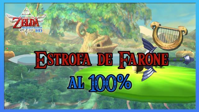 Estrofa de la región de Farone al 100% en The Legend of Zelda: Skyward Sword HD