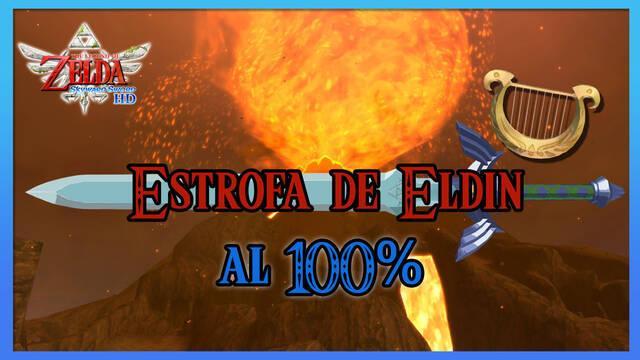 Estrofa de la región de Eldin al 100% en The Legend of Zelda: Skyward Sword HD