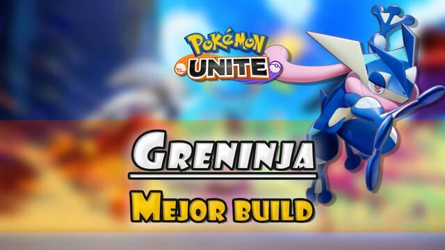 Greninja en Pokémon Unite: Mejor build, objetos, ataques y consejos