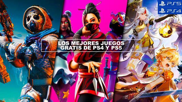 Los MEJORES juegos gratis de PS4 y PS5 en 2021 - ¡Imprescindibles!