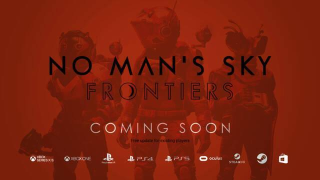 No Man's Sky: Frontiers es la próxima gran actualización gratuita del juego de Hello Games.