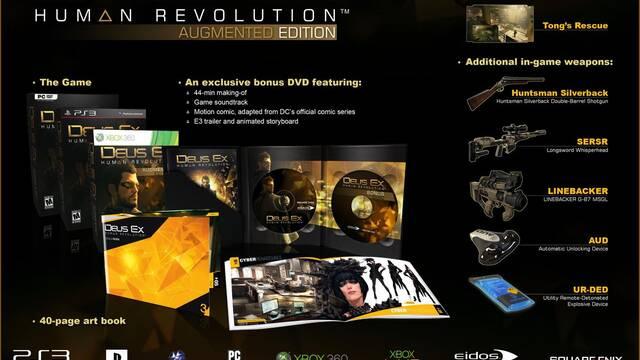 Detalladas las ediciones de Deus Ex: Human Revolution