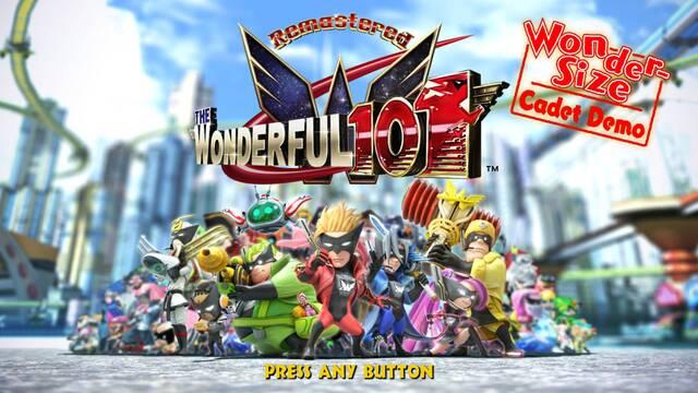 The Wonderful 101: Remastered con demo en PS4, Nintendo Switch y PC