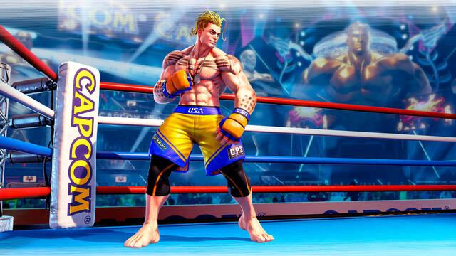 Luke de Street Fighter 5 presentado