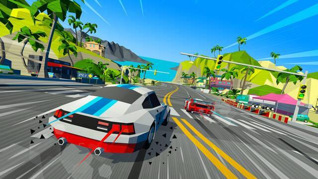 Hotshot Racing: nostalgia y conducción