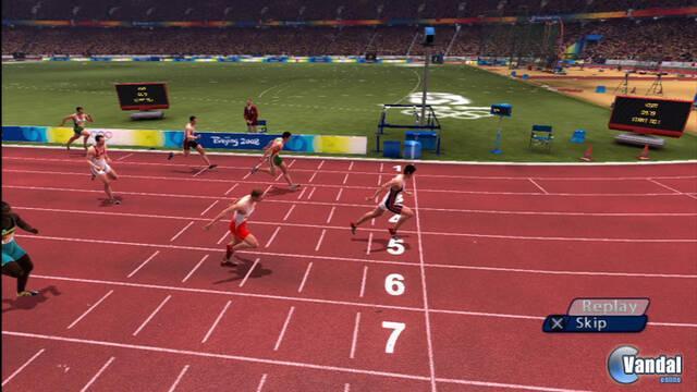 Nuevas imágenes del juego de las Olimpiadas