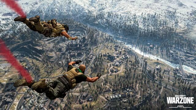 Call of Duty Warzone Estreno Supera Fortnite Apex PUBG