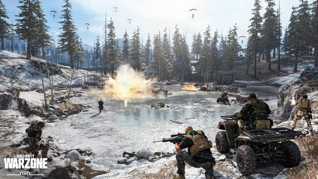 Call of Duty Warzone Modos Escuadras 200 jugadores