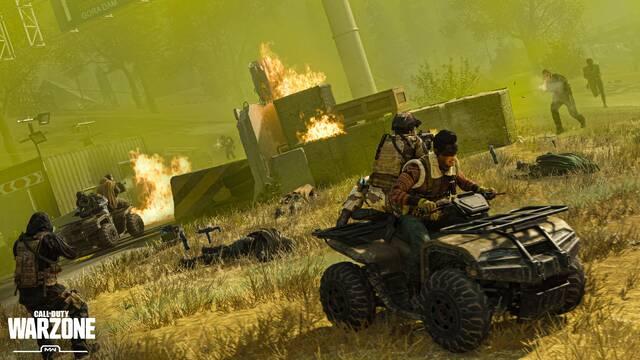 Call of Duty Warzone baneos