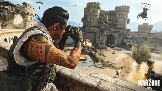 Call of Duty Warzone PS Plus pase de batalla