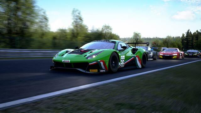 Gameplay de Assetto Corsa Competizione para consolas