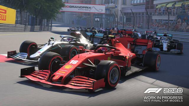 Circuito de Mónaco en F1 2020