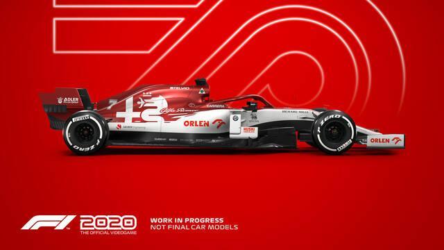 F1 2020 tráiler de gameplay