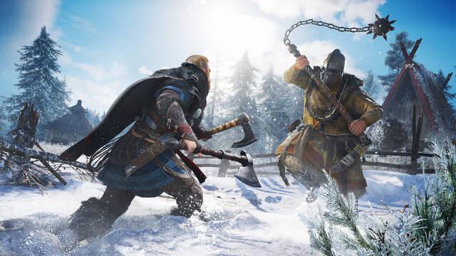 Assassin's Creed Valhalla irá a 4K reescalado y 60 fps en PS5