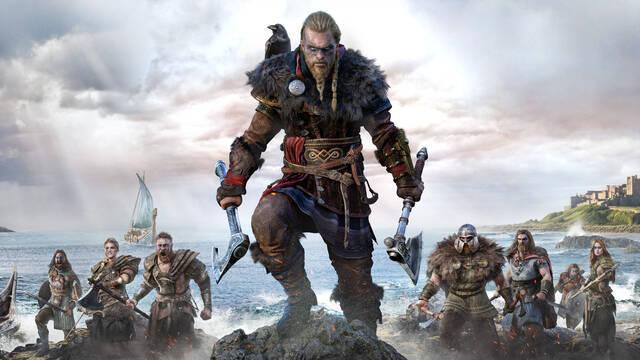 Assassins Creed Valhalla tamaño mundo abierto