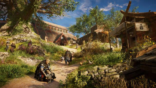 assassins creed valhalla asentamiento