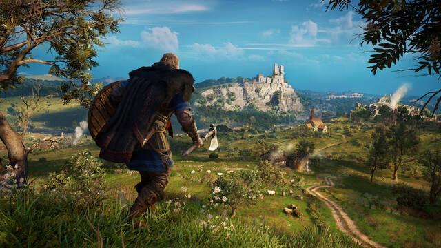 Assassins Creed Valhalla modo rendimiento calidad PS5 Xbox Series X/S