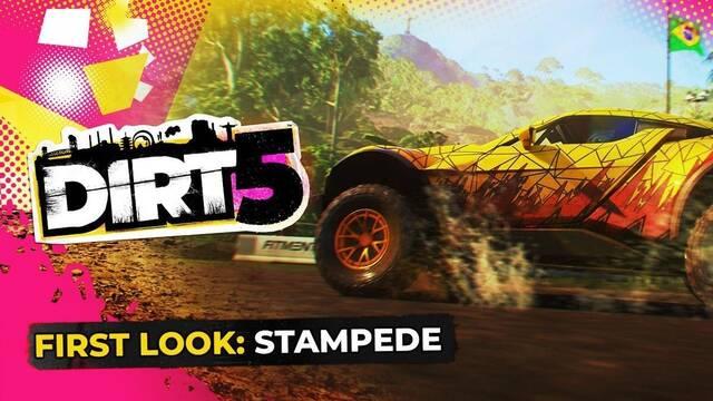 Dirt 5 y el modo Stampede