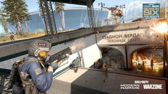 Call of Duty Warzone Metro