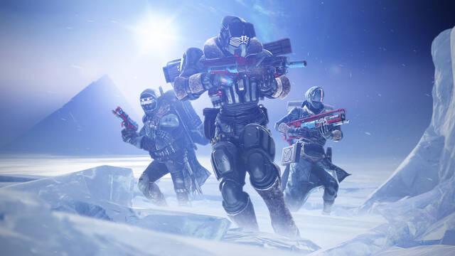 Destiny 2 Más allá de la luz tamaño nuevos jugadores gratis futuro